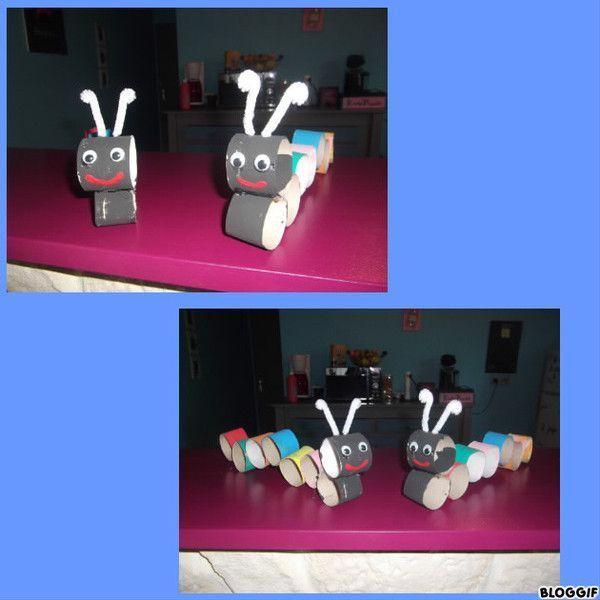Activites rouleaux papier toilette - Que peut on faire avec des rouleaux de papier toilette ...